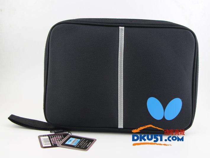 蝴蝶BUTTERFLY TBC965 方形單拍套 黑藍色 款式簡練大方