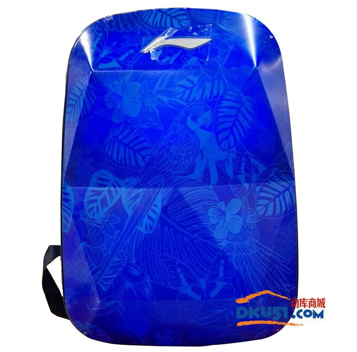LINING李宁 ABSL306 硬质双肩羽毛球背包 运动包 蓝色 红色 黑色可选