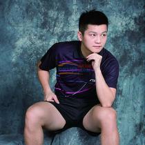 斯帝卡STIGA CA-83111 黑色款乒乓球比赛服 运动服(轻盈快干)