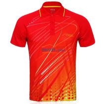 STIGA斯帝卡  CA-83181 紅色款乒乓球比賽服 運動服(美觀大方 透氣舒爽)
