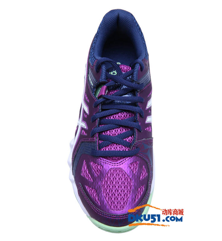 ASICS爱世克斯亚瑟士R555Y-3601 女款专业羽毛球鞋运动鞋