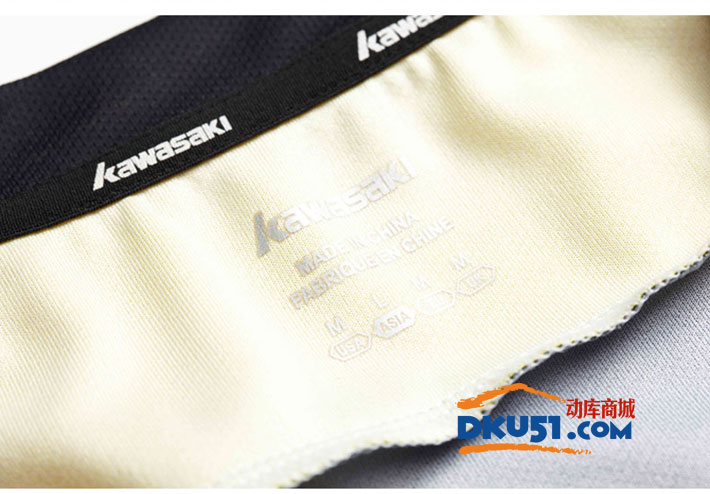 川崎kawasaki ST-16182 女款羽毛球服 运动T恤(吸汗速干 聚酯纤维)