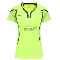 李寧LINING 奧運會女款羽毛球服TD版 AAYL104-3亮綠款
