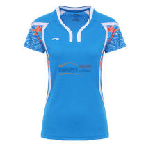 李宁LINING AAYL104-2 蓝色款 奥运会女款羽毛球服TD版
