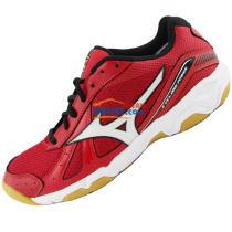 MIZUNO美津浓 V1GA159001 综合乒乓球鞋 红黑款(透气舒适 高性价比)