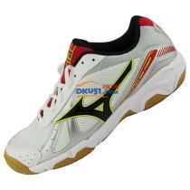 MIZUNO美津浓 V1GA159008 综合乒乓球鞋 黑白款(透气舒适 包裹性好)