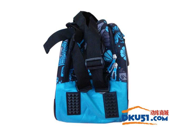 李宁 ABJL082-3 蓝色款6只装双肩羽毛球包(国家队款系列)
