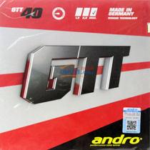 andro岸度安度GTT40 乒乓球胶皮套胶(追求控制 培养手感使用)