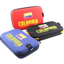 銀河 哥倫比亞國家隊款 8009 乒乓球硬質拍套(可放兩支球拍)