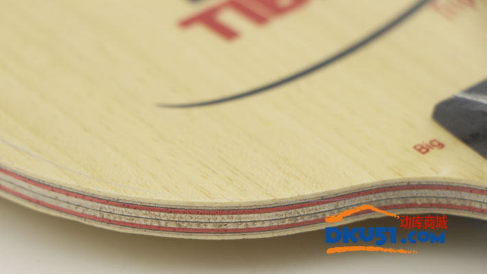 TIBHAR挺拔 锤霸三碳皇Triple Carbon 大锤 乒乓球拍 底板