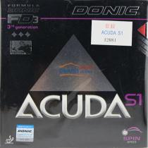 DONIC多尼克S1(ACUDA S1 12081)乒乓球套胶 最强烈的旋转!