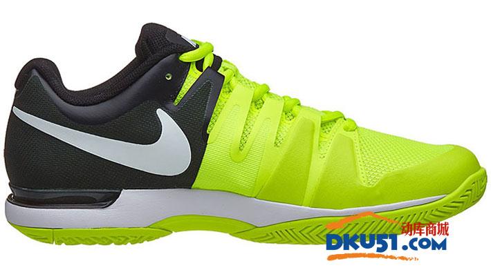Nike 耐克 ZOOM VAPOR 9.5 TOUR 男子网球鞋 631458 荧光绿款