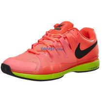 Nike 耐克 ZOOM VAPOR 9.5 TOUR 男子网球鞋 631458 超级橙款