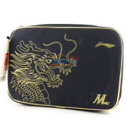LINING李宁 中国乒乓球队马龙奥运会专用 双层拍套 ABJL96-5000