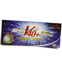 双鱼 新材料展翅V40+ 无星球 乒乓球(新材料 更耐打)