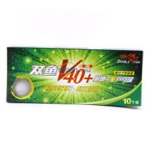 双鱼 新材料展翅V40+ 二星球 乒乓球(新材料 更耐打)
