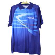 JOOLA优拉 蝶舞 693 乒乓球比赛球服 运动短袖 2017新款 蓝色款
