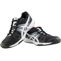 ASICS亚瑟士 B400N-9001 2017新款专业乒乓球运动鞋 黑白款