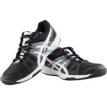 ASICS亞瑟士 B400N-9001 2017新款專業乒乓球運動鞋 黑白款