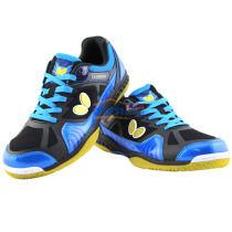 Butterfly蝴蝶比賽級乒乓球鞋 LEZOLINE-1 藍/黑款(給腳專業的保護)