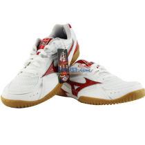 美津浓 CROSSMATCH PLIO RX3 81GA163062 中国红款专业乒乓球鞋(透气网面