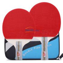 雙魚 4D 乒乓球拍 成品拍 初學者弧圈快攻打法(送拍套)