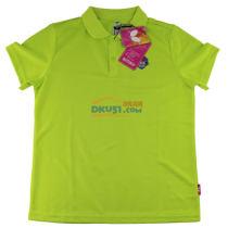蝴蝶儿童乒乓球服 CHD-201-04 2017新款T恤 翠绿色