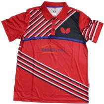 蝴蝶男款乒乓球服 BWH-271 红色款 2017新款运动T恤
