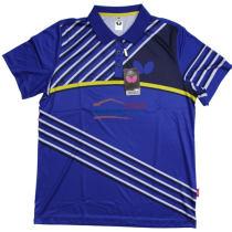 蝴蝶男款乒乓球服 BWH-271-03 蓝色款 2017新款运动T恤
