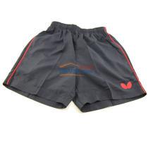蝴蝶Butterfly专业儿童乒乓球短裤BWS-323 黑色款