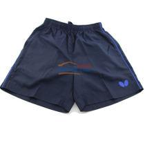 Butterfly蝴蝶专业儿童乒乓球短裤 BWS-323 藏蓝款