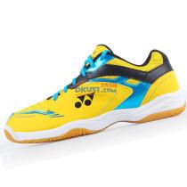 YONEX尤尼克斯 SHB-400C 黄蓝 男女同款羽毛球鞋