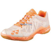 YONEX尤尼克斯 SHBA2LEX 女款羽毛球鞋 淡橙色 (超轻二代,升级版)
