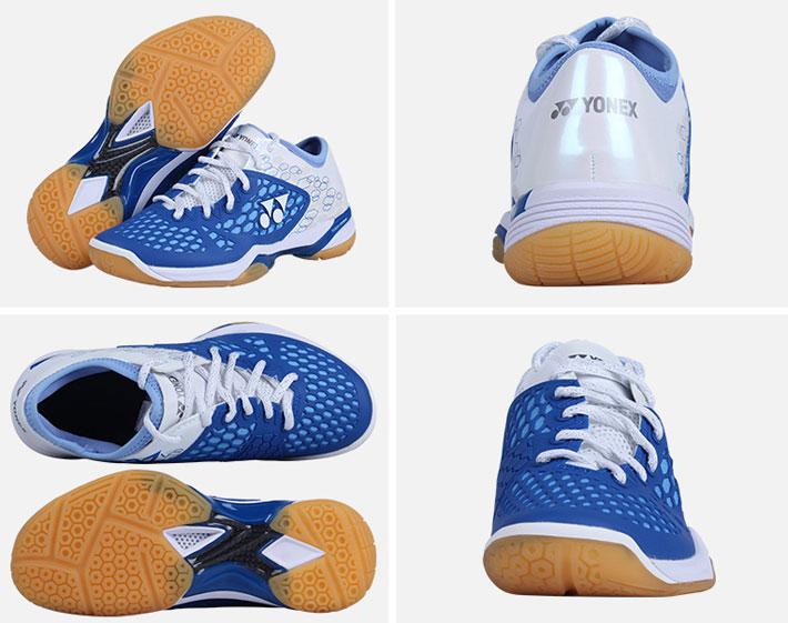 2017新款YONEX尤尼克斯 SHB03ZLEX 浅蓝色 女款羽毛球鞋(舒适透气 耐磨防滑)
