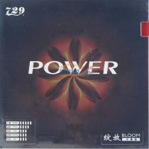 友誼729綻放-POWER 力量型 粘性內能乒乓球套膠