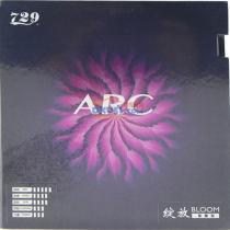 友谊729 绽放-ARC 弧线型 粘性内能乒乓球套胶