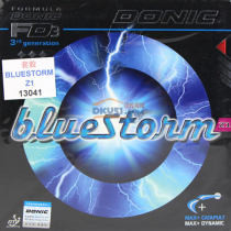 DONIC多尼克 蓝色风暴 Z1 BLUESTONM(13041)乒乓球套胶 暴力速度武器