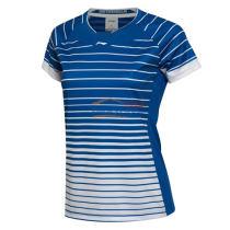 李寧 AAYL038-3 女款羽毛球 比賽上衣 羽毛球服 夢幻藍