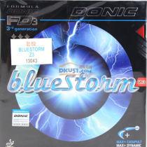 DONIC多尼克 蓝色风暴Z3 BLUESTONM 13043 专业乒乓球套胶 雷鸣般的击球声