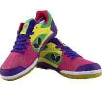 Butterfly蝴蝶 LEZOLINE-2 玫红/紫色 专业乒乓球鞋(超强透气)