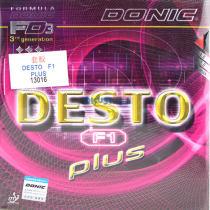 多尼克F1升级版(F1 PLUS)乒乓球套胶(不虚弹、更耐用,性能更优)