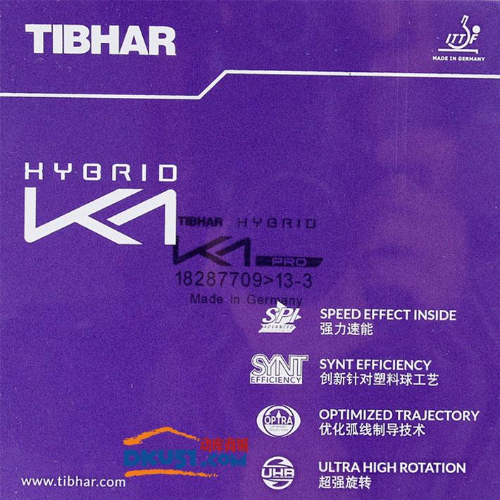 TIBHAR挺拔 國K1 黑K1 專業隊乒乓球套膠(粘性頂級內能海綿)