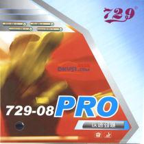 友谊729-08 PRO 疾速劲爆 专业版乒乓球套胶(细腻手感和优美弧线)