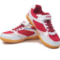 STIGA 斯帝卡 CS-3341 专业儿童乒乓球鞋 红色款
