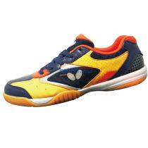 蝴蝶 CHD-2 童鞋 专业儿童乒乓球鞋 宝蓝色