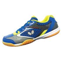 蝴蝶 CHD-2 童鞋 专业儿童乒乓球鞋 彩蓝色