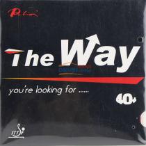 palio拍里奥The Way路 粘性40+新材料乒乓球胶皮反胶套胶