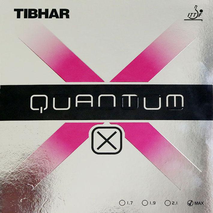 Tibhar挺拔 量子X quantum-X 高弹内能乒乓球胶皮 让你两分