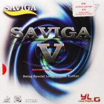 賽維卡 SAVIGA V 乒乓球長膠套膠/單膠皮