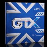 LOKI雷神 GTX PRO 专业乒乓球套胶 至强旋转 进攻游刃有余